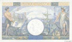1000 Francs COMMERCE ET INDUSTRIE FRANCE  1944 F.39.12 SPL