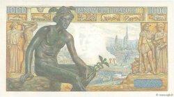 1000 Francs DÉESSE DÉMÉTER FRANCE  1942 F.40.01 SPL