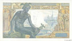 1000 Francs DÉESSE DÉMÉTER FRANCE  1942 F.40.03 SPL