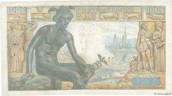 1000 Francs DÉESSE DÉMÉTER FRANCE  1942 F.40.04 TB