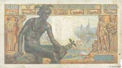 1000 Francs DÉESSE DÉMÉTER FRANCE  1942 F.40.12 B