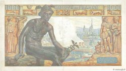 1000 Francs DÉESSE DÉMÉTER FRANCE  1942 F.40.12 TTB