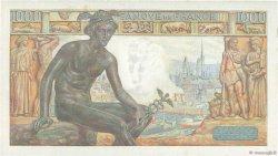 1000 Francs DÉESSE DÉMÉTER FRANCE  1943 F.40.20 SPL