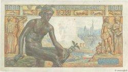 1000 Francs DÉESSE DÉMÉTER FRANCE  1943 F.40.25 TB+
