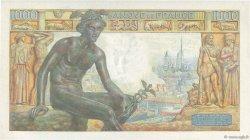 1000 Francs DÉESSE DÉMÉTER FRANCE  1943 F.40.27 SUP+