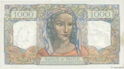 1000 Francs MINERVE ET HERCULE FRANCE  1945 F.41.02 TTB+