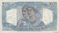 1000 Francs MINERVE ET HERCULE FRANCE  1945 F.41.05 TTB