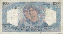 1000 Francs MINERVE ET HERCULE FRANCE  1945 F.41.06 B
