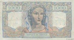 1000 Francs MINERVE ET HERCULE FRANCE  1946 F.41.12 TB+
