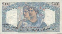 1000 Francs MINERVE ET HERCULE FRANCE  1946 F.41.13 TB+