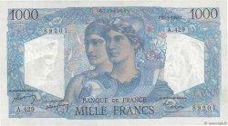 1000 Francs MINERVE ET HERCULE FRANCE  1948 F.41.21 TTB+