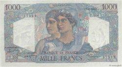 1000 Francs MINERVE ET HERCULE FRANCE  1948 F.41.24 TTB+