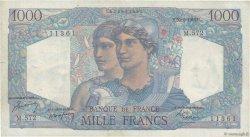 1000 Francs MINERVE ET HERCULE FRANCE  1949 F.41.27 TB