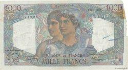 1000 Francs MINERVE ET HERCULE FRANCE  1950 F.41.32 B
