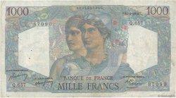1000 Francs MINERVE ET HERCULE FRANCE  1950 F.41.32 B+