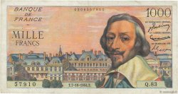 1000 Francs RICHELIEU FRANCE  1954 F.42.08 TB+