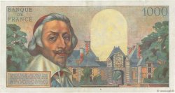 1000 Francs RICHELIEU FRANCE  1954 F.42.09 TTB