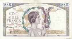 5000 Francs VICTOIRE Impression à plat FRANCE  1939 F.46.03 TTB