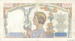 5000 Francs VICTOIRE Impression à plat FRANCE  1939 F.46.05 pr.TTB