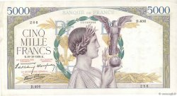 5000 Francs VICTOIRE Impression à plat FRANCE  1939 F.46.15 TTB+