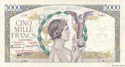 5000 Francs VICTOIRE Impression à plat FRANCE  1940 F.46.16 SPL