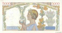 5000 Francs VICTOIRE Impression à plat FRANCE  1941 F.46.22 pr.SPL