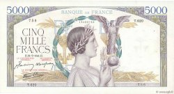 5000 Francs VICTOIRE Impression à plat FRANCE  1941 F.46.24 TTB