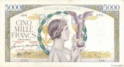 5000 Francs VICTOIRE Impression à plat FRANCE  1941 F.46.28 TTB