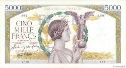 5000 Francs VICTOIRE Impression à plat FRANCE  1941 F.46.31 SUP