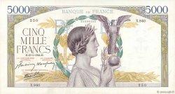 5000 Francs VICTOIRE Impression à plat FRANCE  1942 F.46.33 TTB+