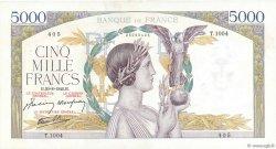 5000 Francs VICTOIRE Impression à plat FRANCE  1942 F.46.40 TTB+
