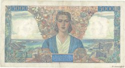 5000 Francs EMPIRE FRANÇAIS FRANCE  1942 F.47.05 TB