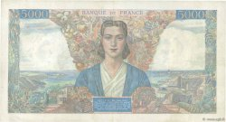 5000 Francs EMPIRE FRANÇAIS FRANCE  1945 F.47.11 TTB