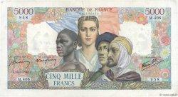 5000 Francs EMPIRE FRANÇAIS FRANCE  1945 F.47.17 TB