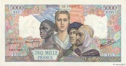 5000 Francs EMPIRE FRANÇAIS FRANCE  1945 F.47.32 SPL