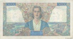 5000 Francs EMPIRE FRANÇAIS FRANCE  1945 F.47.37 TB