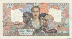5000 Francs EMPIRE FRANÇAIS FRANCE  1945 F.47.40 SUP