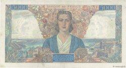 5000 Francs EMPIRE FRANÇAIS FRANCE  1945 F.47.44 pr.TTB