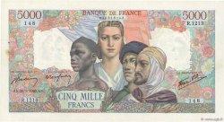 5000 Francs EMPIRE FRANÇAIS FRANCE  1945 F.47.44 SUP+