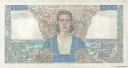 5000 Francs EMPIRE FRANÇAIS FRANCE  1945 F.47.49 TTB