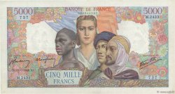 5000 Francs EMPIRE FRANÇAIS FRANCE  1946 F.47.54 TTB+