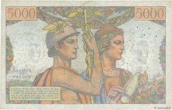 5000 Francs TERRE ET MER FRANCE  1951 F.48.03 TB