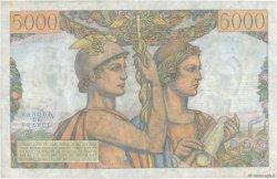 5000 Francs TERRE ET MER FRANCE  1953 F.48.08 TTB+
