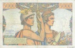 5000 Francs TERRE ET MER FRANCE  1956 F.48.11 TB+