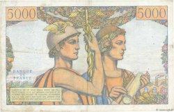 5000 Francs TERRE ET MER FRANCE  1957 F.48.15 TB+