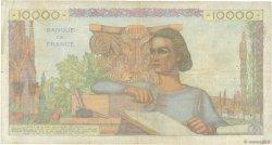 10000 Francs GÉNIE FRANÇAIS FRANCE  1951 F.50.54 B+