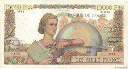 10000 Francs GÉNIE FRANÇAIS FRANCE  1953 F.50.65 TB