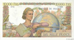 10000 Francs GÉNIE FRANÇAIS FRANCE  1955 F.50.73 pr.SPL