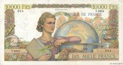 10000 Francs GÉNIE FRANÇAIS FRANCE  1955 F.50.74 TB