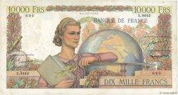 10000 Francs GÉNIE FRANÇAIS FRANCE  1955 F.50.76 TTB